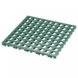 Kunststoffrost grün 49