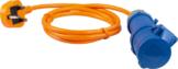 CEE-Adapterleitung GB-Stecker auf CEE-Kupplung 3-polig 1