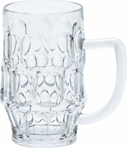 Gimex Kunststoff Bierkrug 0