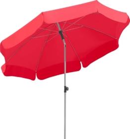 Schneider Sonnenschirm Locarno rund rot