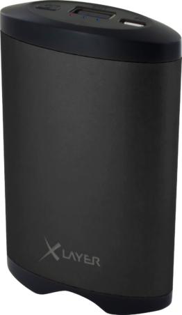 XLayer Powerbank Plus Heat 5.200 mAh inkl. Taschenwärmer