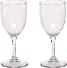 Berger Kunststoff Weingläser 2er Set