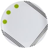 Berger Melamin Dessertteller Dots Grün