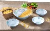 Brunner Schüssel Set Salad & Pasta 5tlg. Melamin