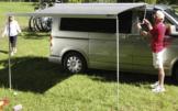 Fiamma F45s Titanium Markise für VW T5/T6 Multivan/Transporter