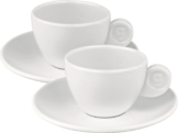Gimex Espressotassen 2er Set Edelweiss