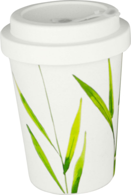 Gimex Kaffeebecher To-Go Nature Line Bambus