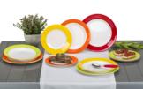 Gimex Rainbow Melamin Geschirr-Set 12-tlg.