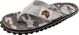 Gumbies Grey Camouflage Herren Zehenstegsandale