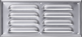 Hülsberg Kiemenblech aus Aluminium