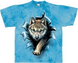 Harlequin Kinder T-Shirt Wolf Pup Rip