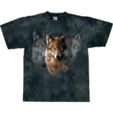 Harlequin T-Shirt Wolf Legend