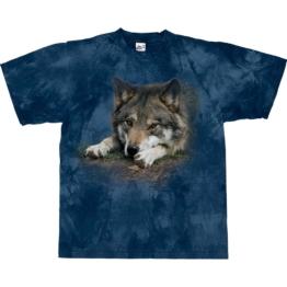 Harlequin T-Shirt Wolf Waiting Game