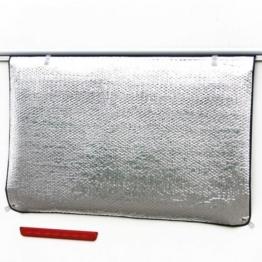 Hindermann Thermomatte für Wohnwagenfenster 160 x 74 cm