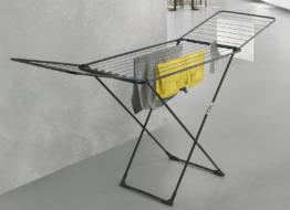 Metaltex Flügelwäschetrockner klappbar matt-schwarz