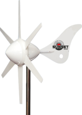 Sunset Solar WG 914i Windgenerator 12 V