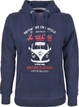 Van One Bulli Front Damen Kapuzen-Sweatshirt