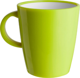 Brunner Hot Mug Resylin Henkelbecher 300 ml lime