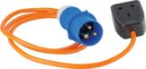 CEE-Adapterleitung CEE-Stecker 3-polig auf GB-Kupplung 1
