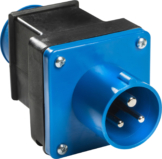 Adapterstück CEE-Stecker auf Schutzkontakt-Steckdose