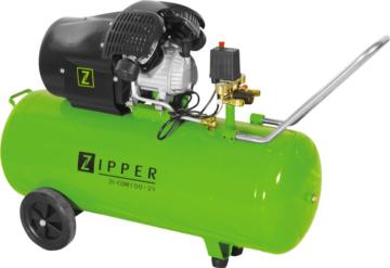 Zipper ZI-COM100-2V mobiler Druckluftkompressor 97 l / 8 bar