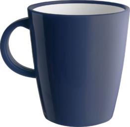 Brunner Hot Mug Resylin Henkelbecher 300 ml marine