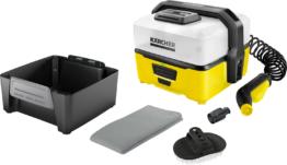 Kärcher Mobile Outdoor Cleaner OC 3 Akku-Niedrigdruckreiniger inklusive Pet Box
