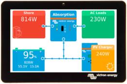 Victron GX Touch 50 Anzeigebildschirm für Batterie-Monitorsystem Cerbo GX