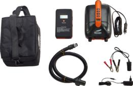 Indiana HT-790 Battery Pump Set elektrische Luftpumpe 12 V inkl. Lithiumbatterie